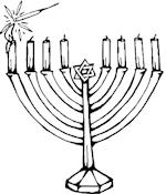 Le Calendrier Juif - coloriage